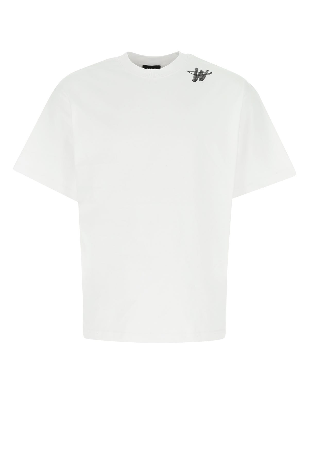 Well Done White Cotton T-shirt  White  Uomo S
