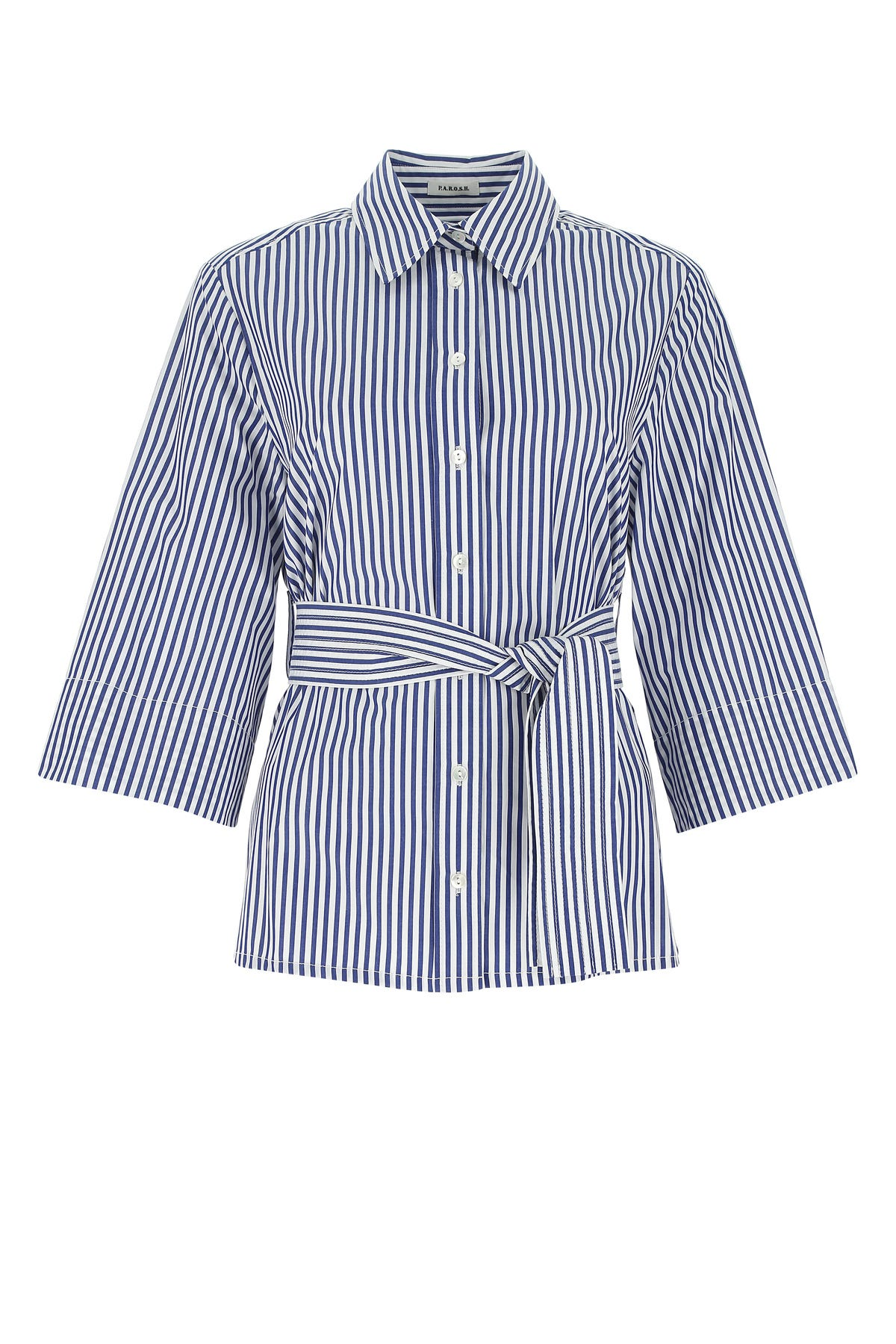 P.a.r.o.s.h. Tops EMBROIDERED POPLIN CLACX SHIRT  STRIPPED PAROSH DONNA S