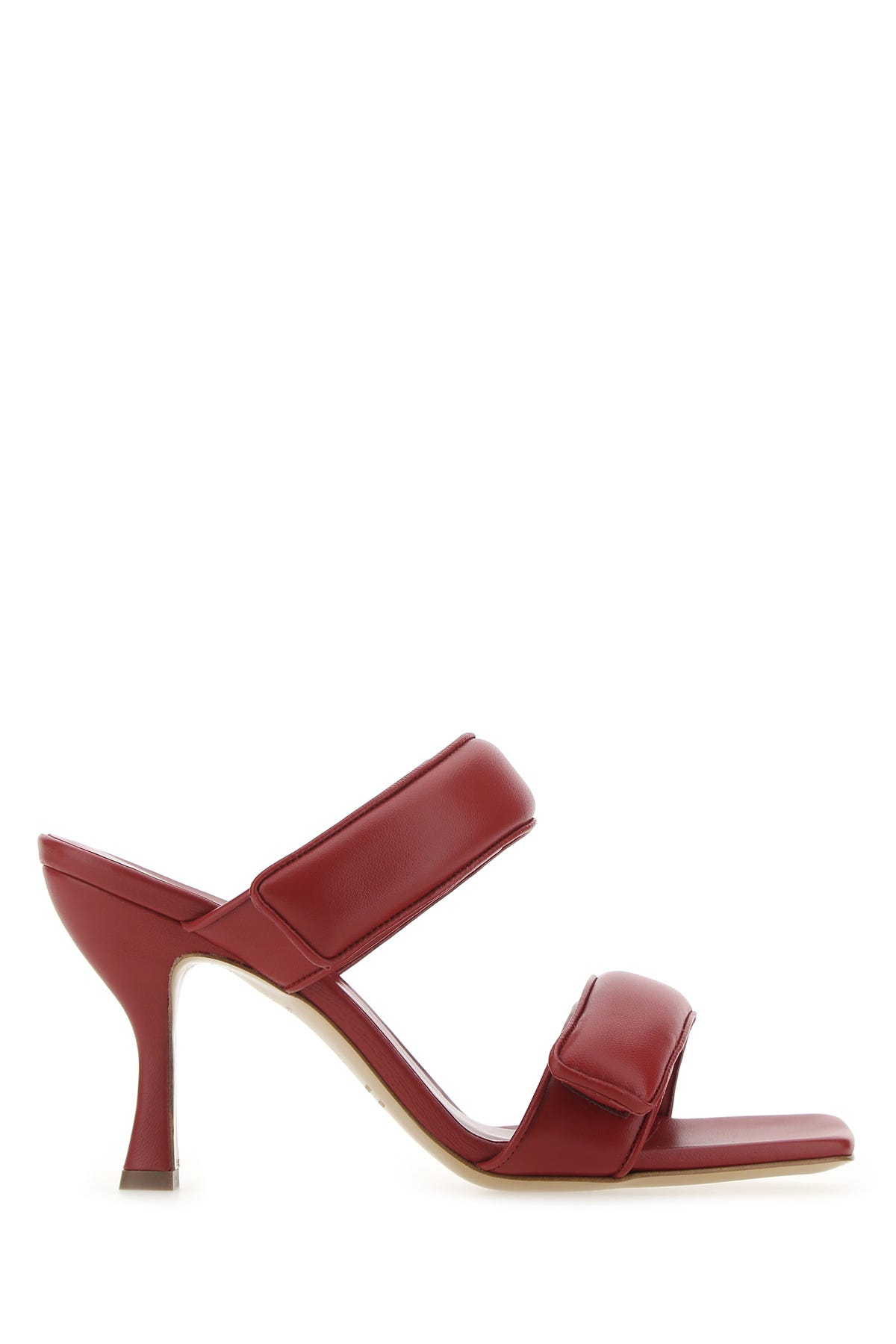 Gia Couture BURGUNDY LEATHER PERNI 03 MULES BURGUNDY GIA COUTURE DONNA 38