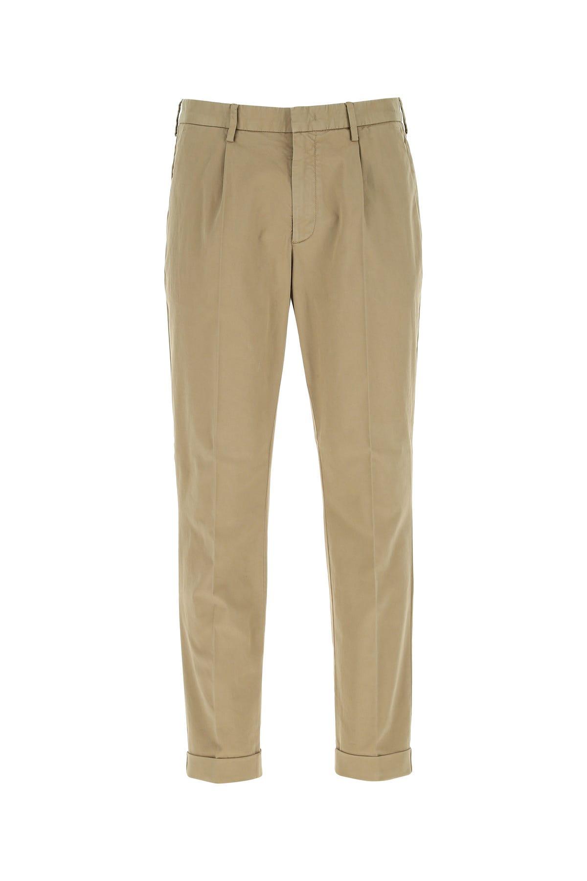 Z Zegna Dove Grey Stretch Cotton Pant  Grey  Uomo 52
