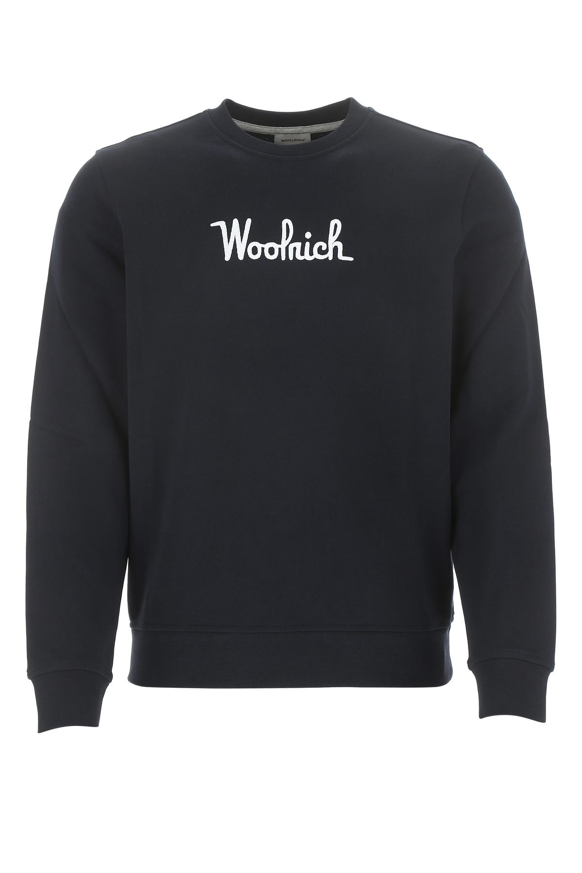 Woolrich WHITE COTTON SWEATSHIRT  WHITE WOOLRICH UOMO XL