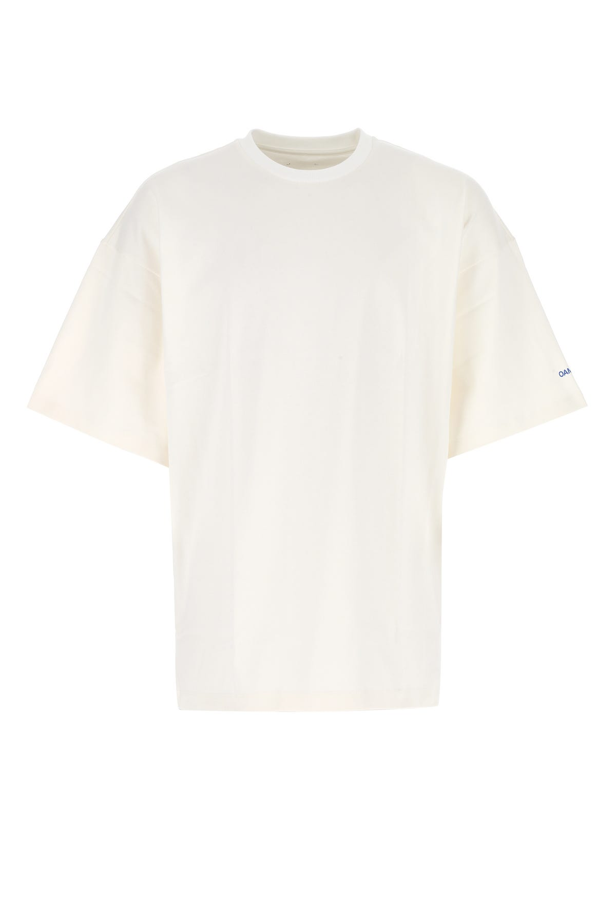 Oamc T-shirts ANTIQUED PINK COTTON T-SHIRT  PINK OAMC UOMO S