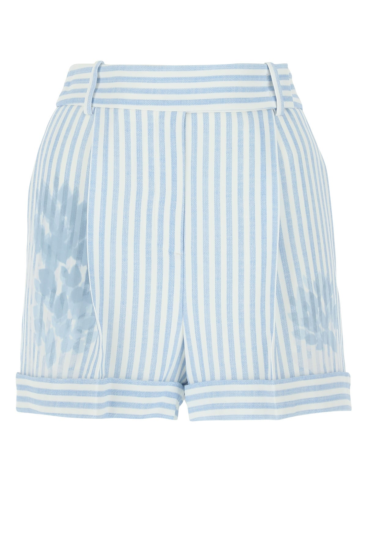 ERMANNO SCERVINO Shorts PRINTED STRETCH VISCOSE SHORTS  STRIPPED ERMANNO SCERVINO DONNA 40