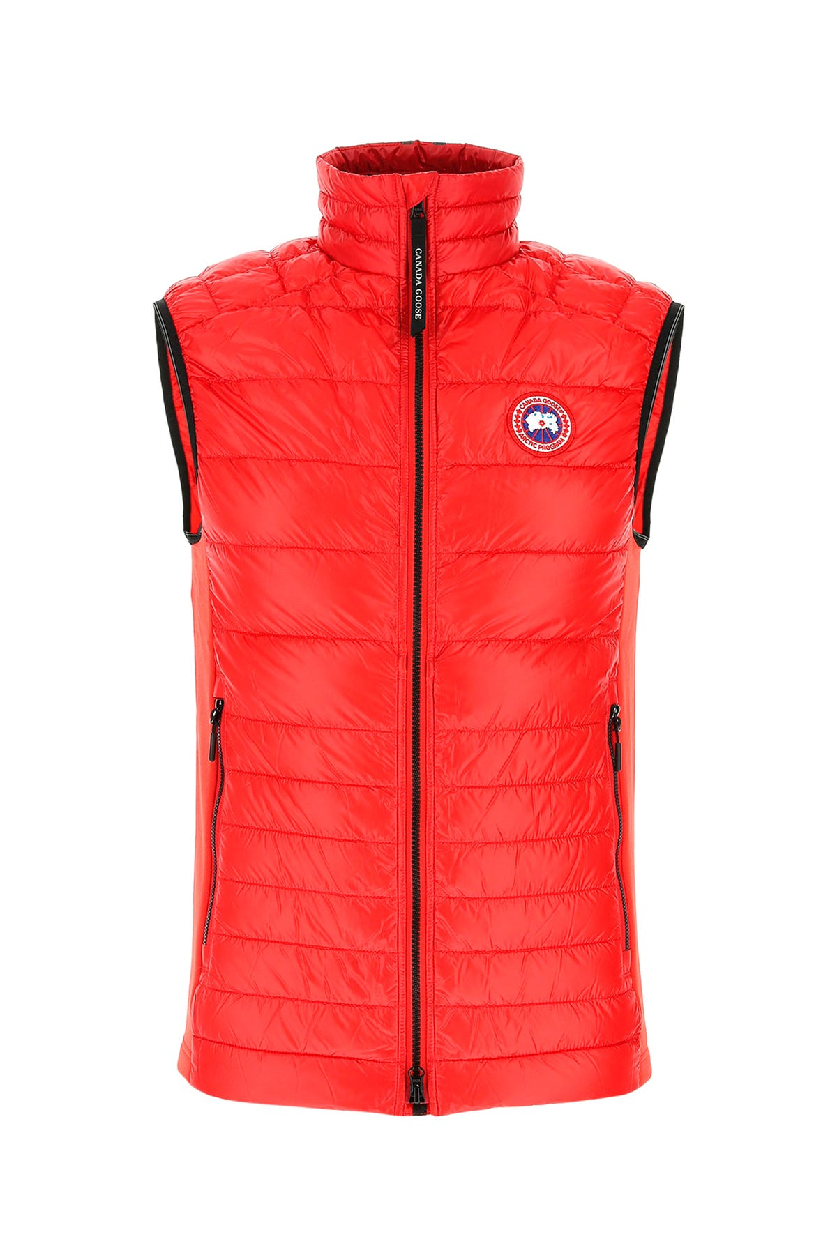 Canada Goose RED NYLON HYBRIDGE LITE SLEEVELESS DOWN JACKET   RED CANADA GOOSE UOMO L