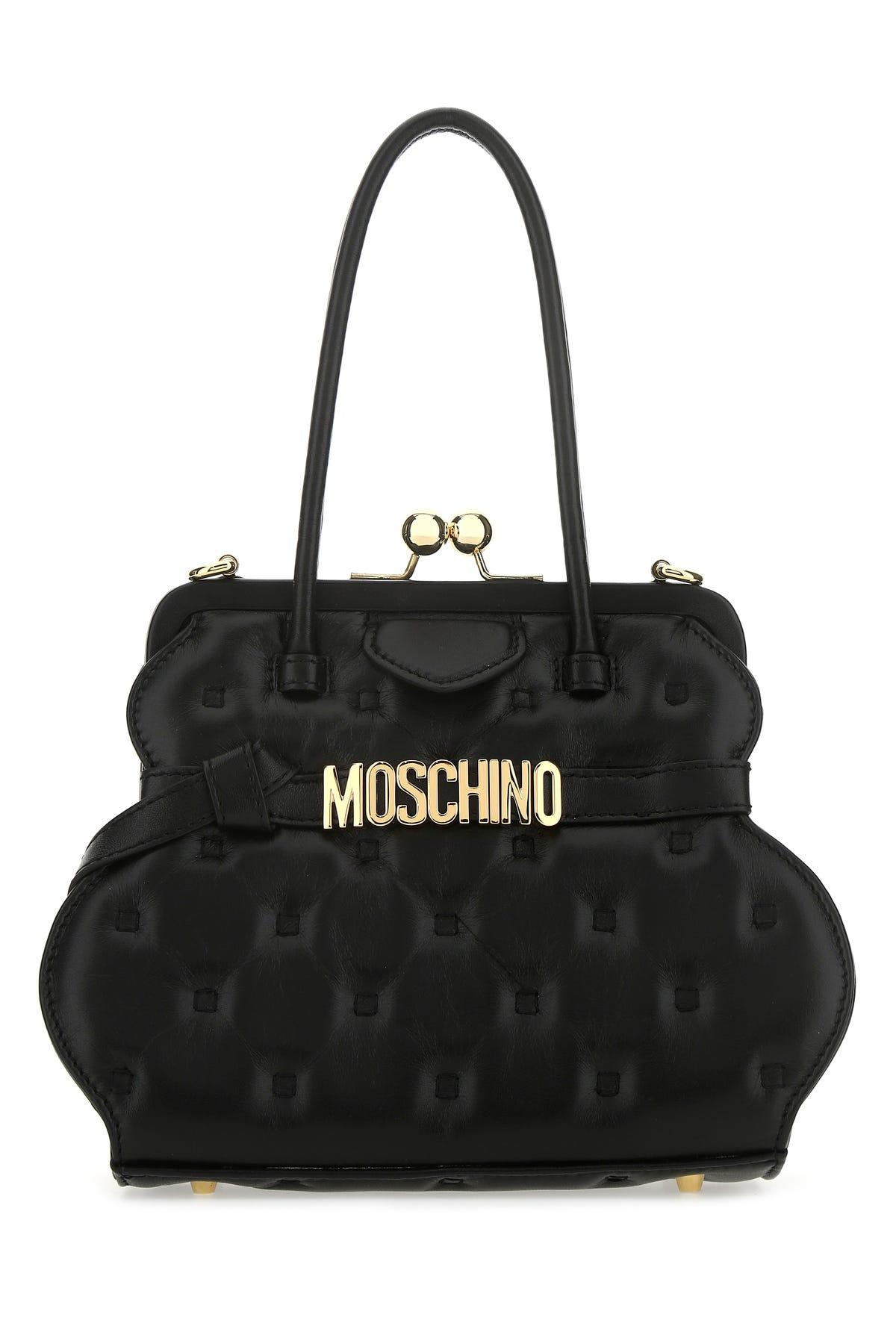 Moschino Leathers BORSA-TU