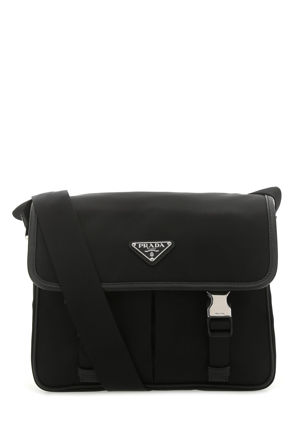 Prada Black Re-nylon Crossbody Bag  Nd  Uomo Tu