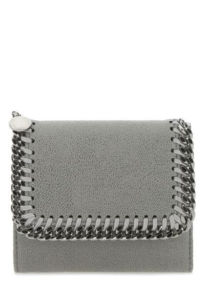 Grey shaggy deer Falabella wallet
