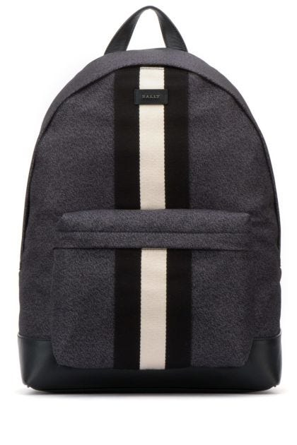 Printed nylon Hingis backpack