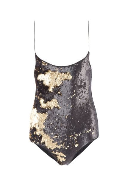 Sequinned swimsuit
