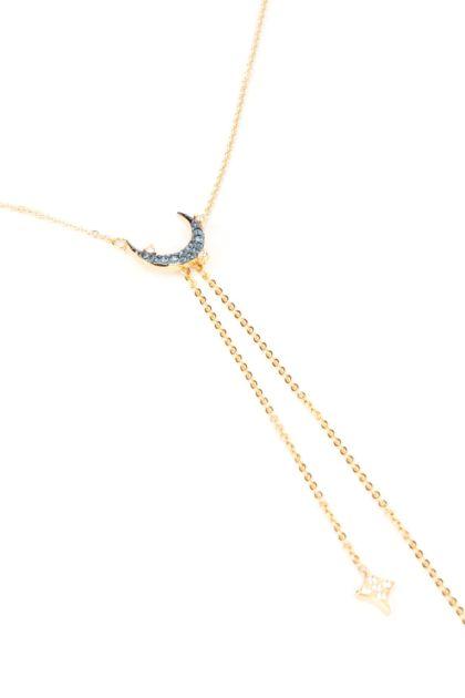 Duo Moon necklace