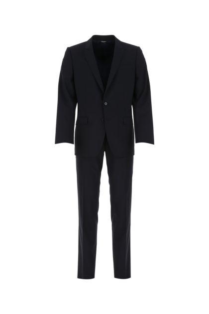 Midnight blue stretch wool Martini tuxedo