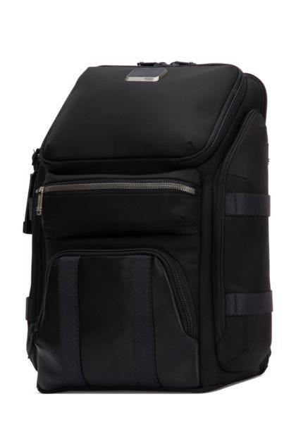 Black nylon Tyndall backpack