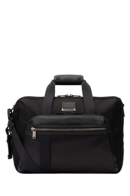 Black nylon Bravo travel bag