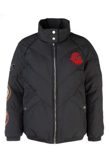 Black 2 Moncler + Valextra 1952 down jacket