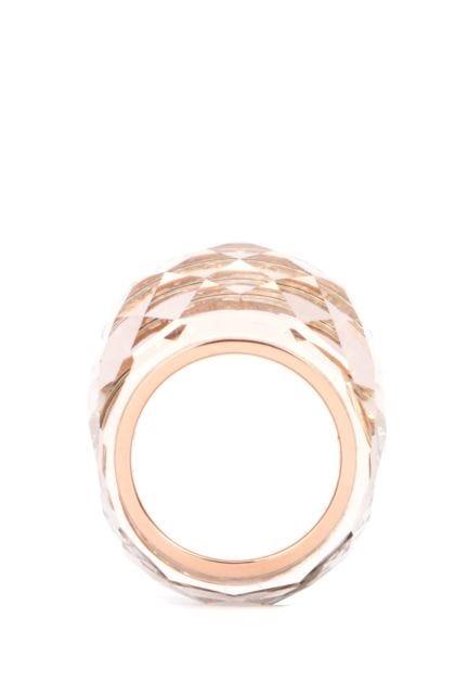 Rose gold metal Nirvana ring