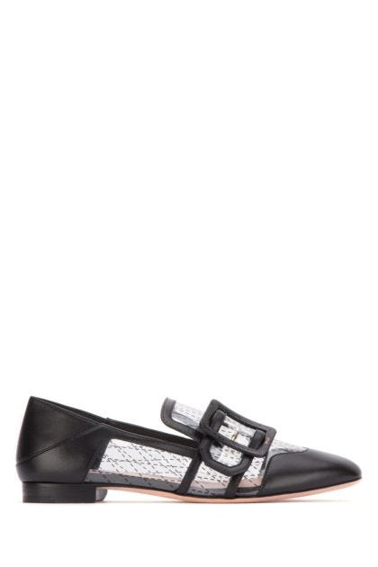 PVC and leather Janelle loafers