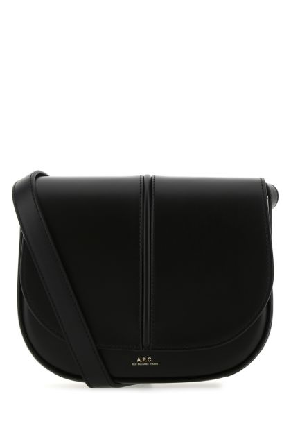 Black leather Betty crossbody bag