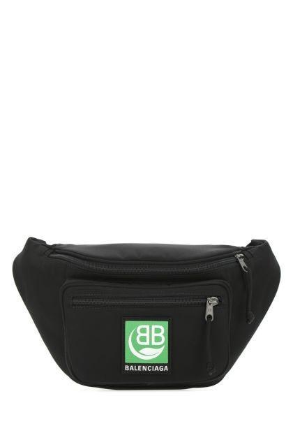 Black nylon and polyester Explorer belt bag
