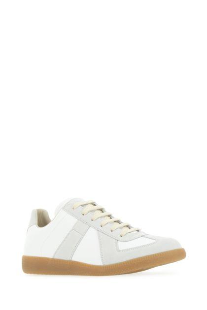 Multicolor leather Replica sneakers