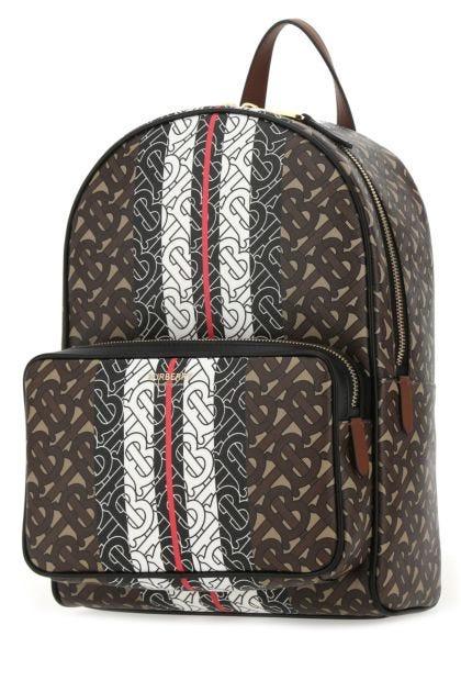 Printed e-canvas backpack