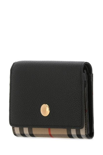 Multicolor leather and fabric Lancaster wallet