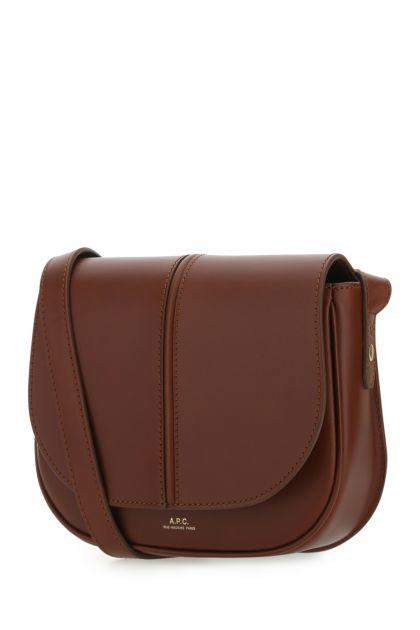 Brown leather Betty crossbody bag