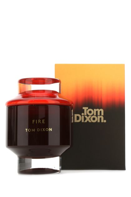 Large Fire scented candle