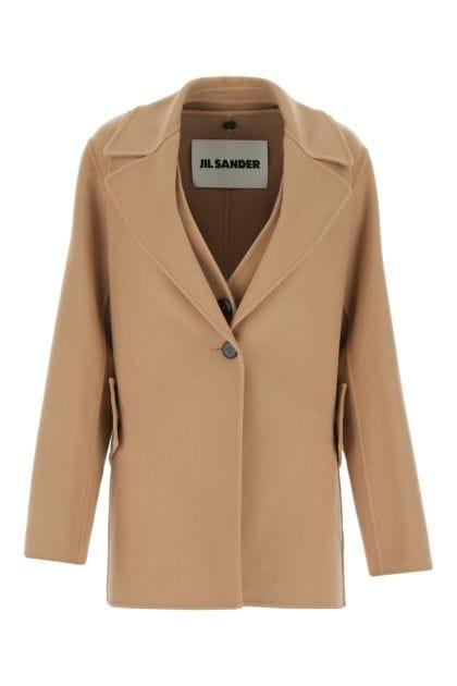 Cappuccino cashmere coat