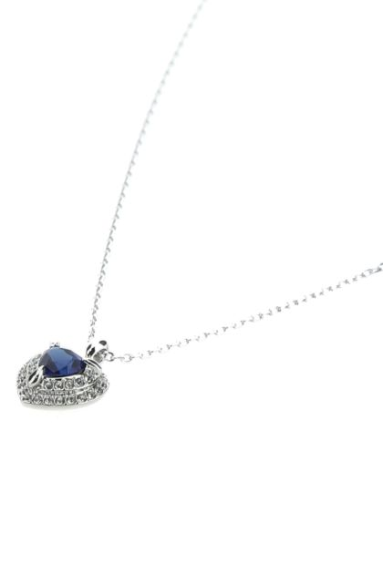 Silver metal One necklace
