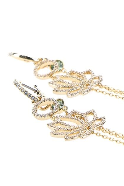 Gold metal Symbolic earrings