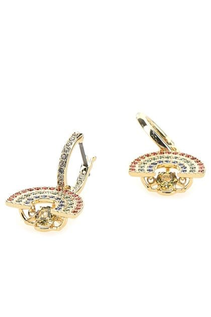 Embellished metal Sparkling Dance earrings