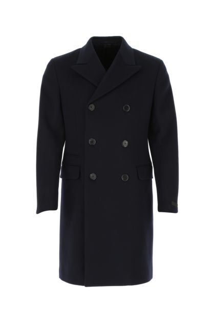 Midnight blue cashmere coat