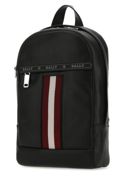 Black leather Hari backpack