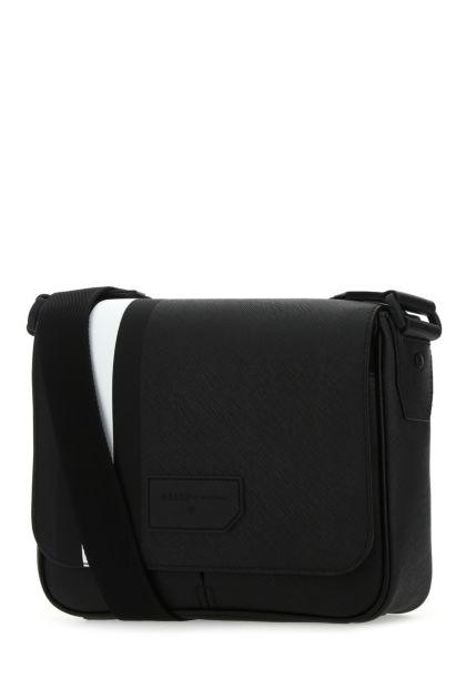 Black canvas Surier crossbody bag