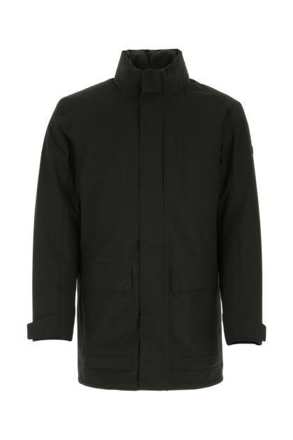 Black polyester jacket