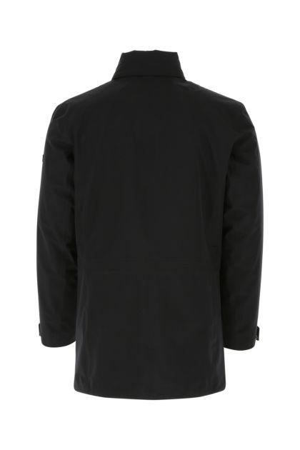 Midnight blue polyester jacket