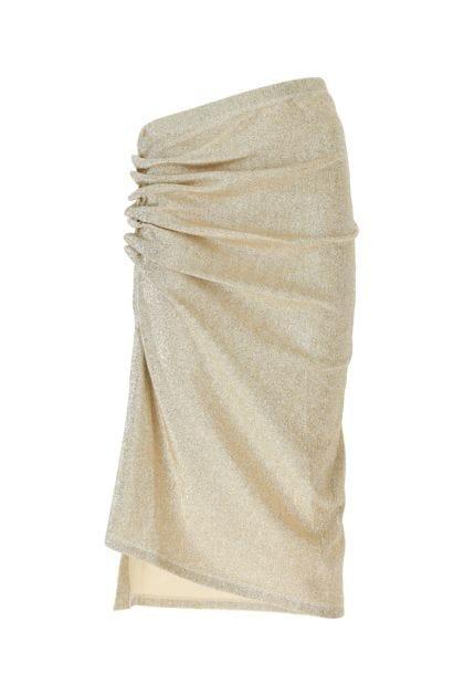 Platinum stretch viscose blend skirt