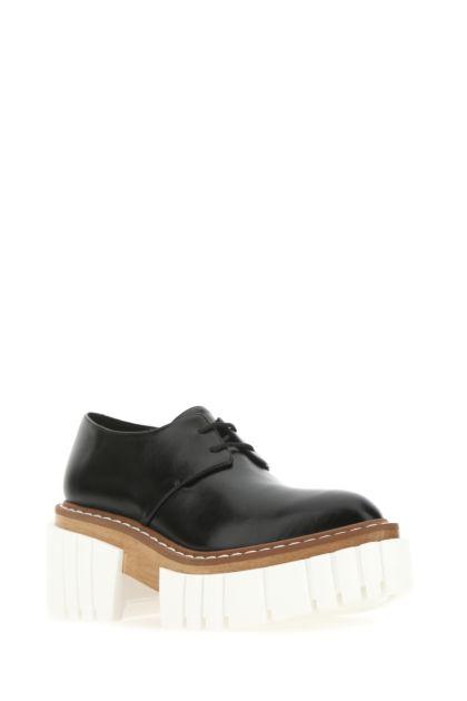 Black alter nappa Emilie lace-up shoes