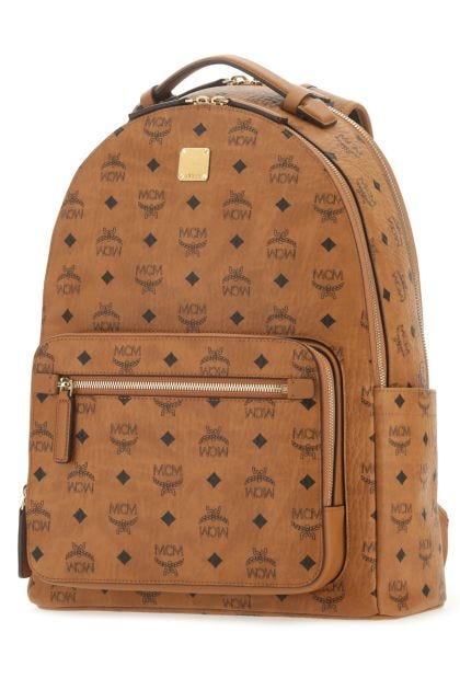 Printed canvas 42 Stark backpack