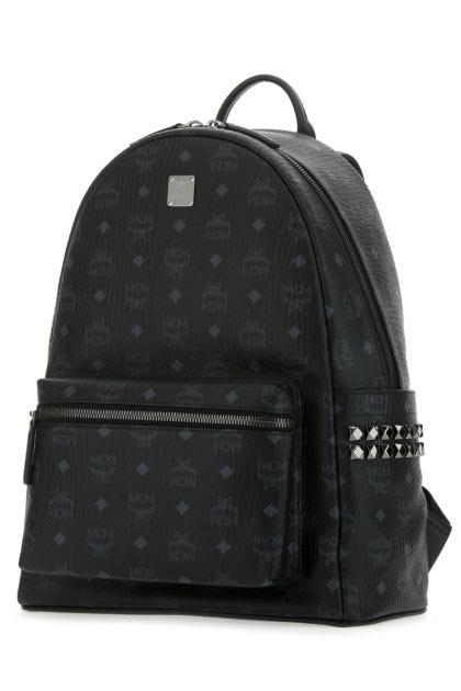 Printed canvas 42 Stark Side Studs backpack
