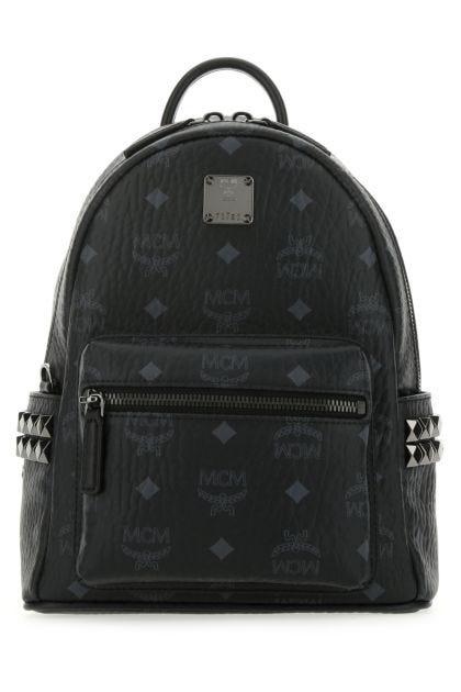Printed canvas 27 Stark Side Studs backpack