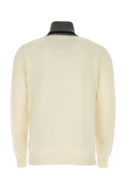 Ivory cashmere blend sweater