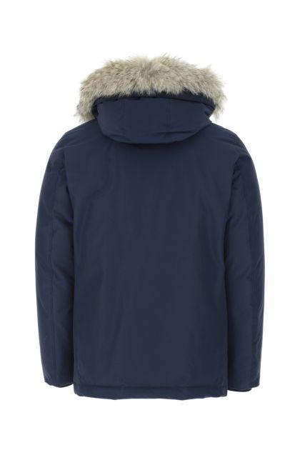 Blue cotton blend Arctic down jacket
