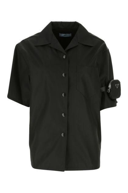 Black Re-Nylon shirt