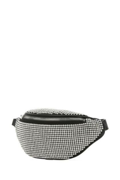 Embellished leather mini Attica belt bag