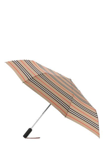 Printed fabric folding umbrella