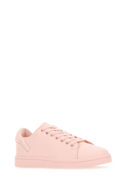 Pastel pink leather Orion sneakers