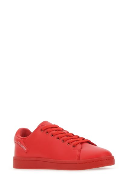 Red leather Orion sneakers