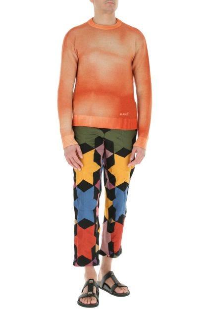 Multicolor cotton pant