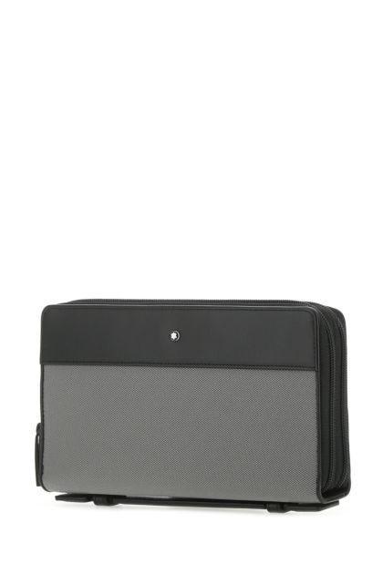 Two-tone fabric and leather My Montblanc Nightflight handbag